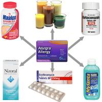 Allegra drug interactions