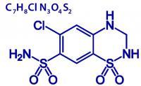 Hydrochlorothiazide formula