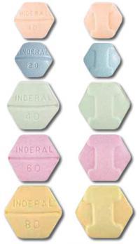 Inderal dosage