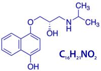 Propranolol formula