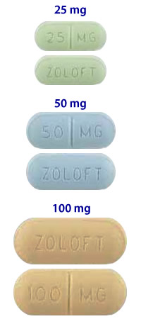 Zoloft dosages