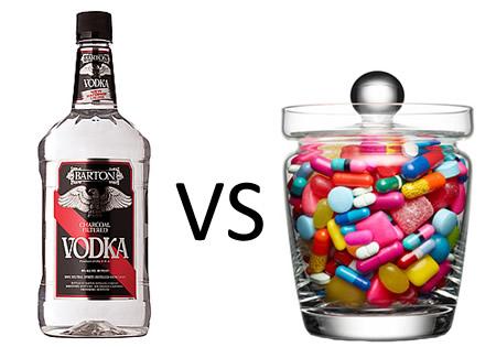 Erythromycin and alcohol
