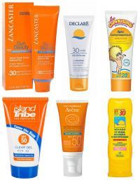 Sunblock creams