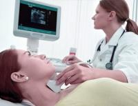 Thyroid gland examination